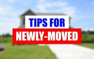 If you are just moving, we can help you